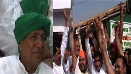 Chautala gets interim bail, supporters celebrate the verdict