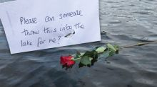 The touching story behind a mysterious rose found floating in lake