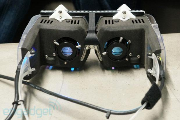 Avegant's head-mounted virtual retinal display offers brilliant definition, we go hands-on (video)