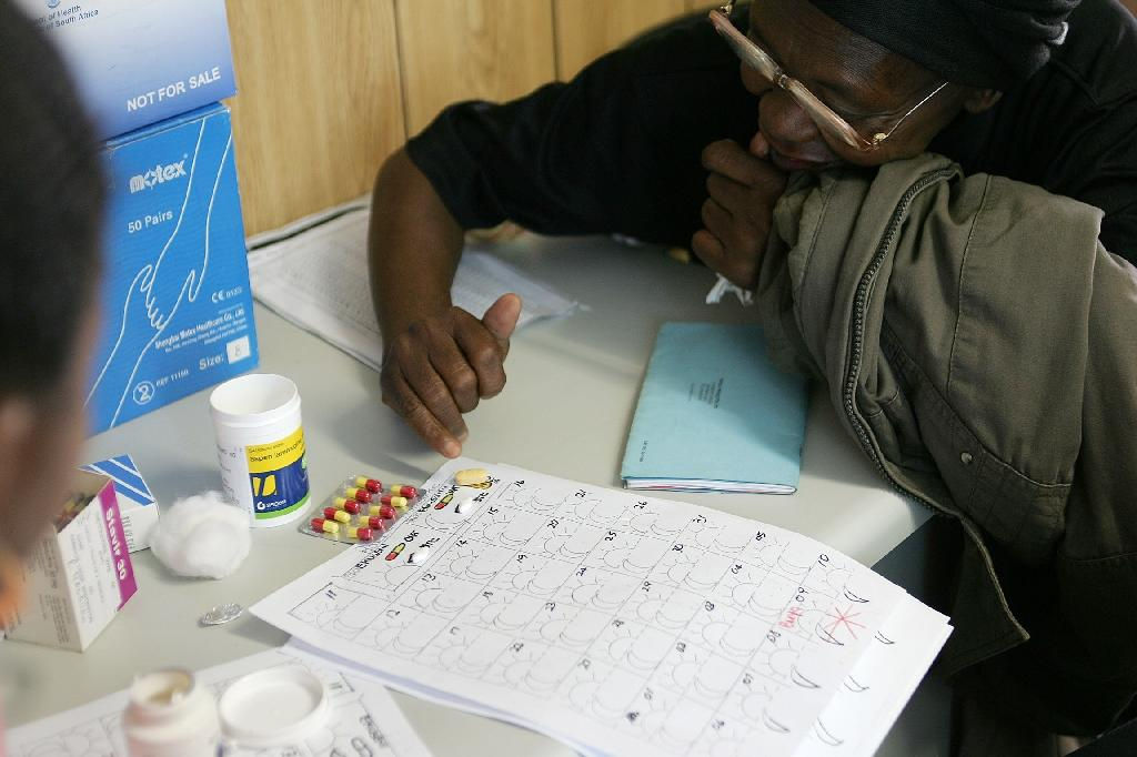 More than 80 percent of all patients diagnosed with HIV are receiving anti-retroviral therapy (AFP Photo/Alexander Joe)