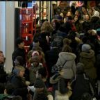 Shoppers hit the stores in search of Black Friday bargains