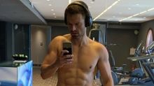 Sebastian Stan posts shirtless selfie, admits to 'years of self-judgment and mental wars' over body