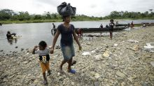 Panama charges 12 Haitian migrants for protest