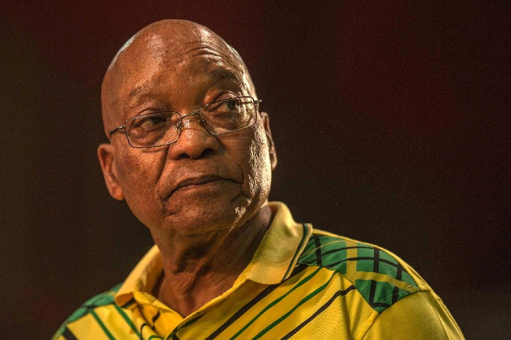 Zuma was forced to resign as South African president by his party in the wake of mounting corruption scandals (AFP Photo/MUJAHID SAFODIEN)