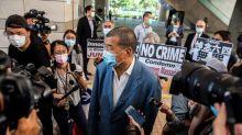 Hong Kong police raid pro-democracy media tycoon's office