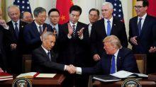 Republican convention touts Trump trade deals, despite mixed results