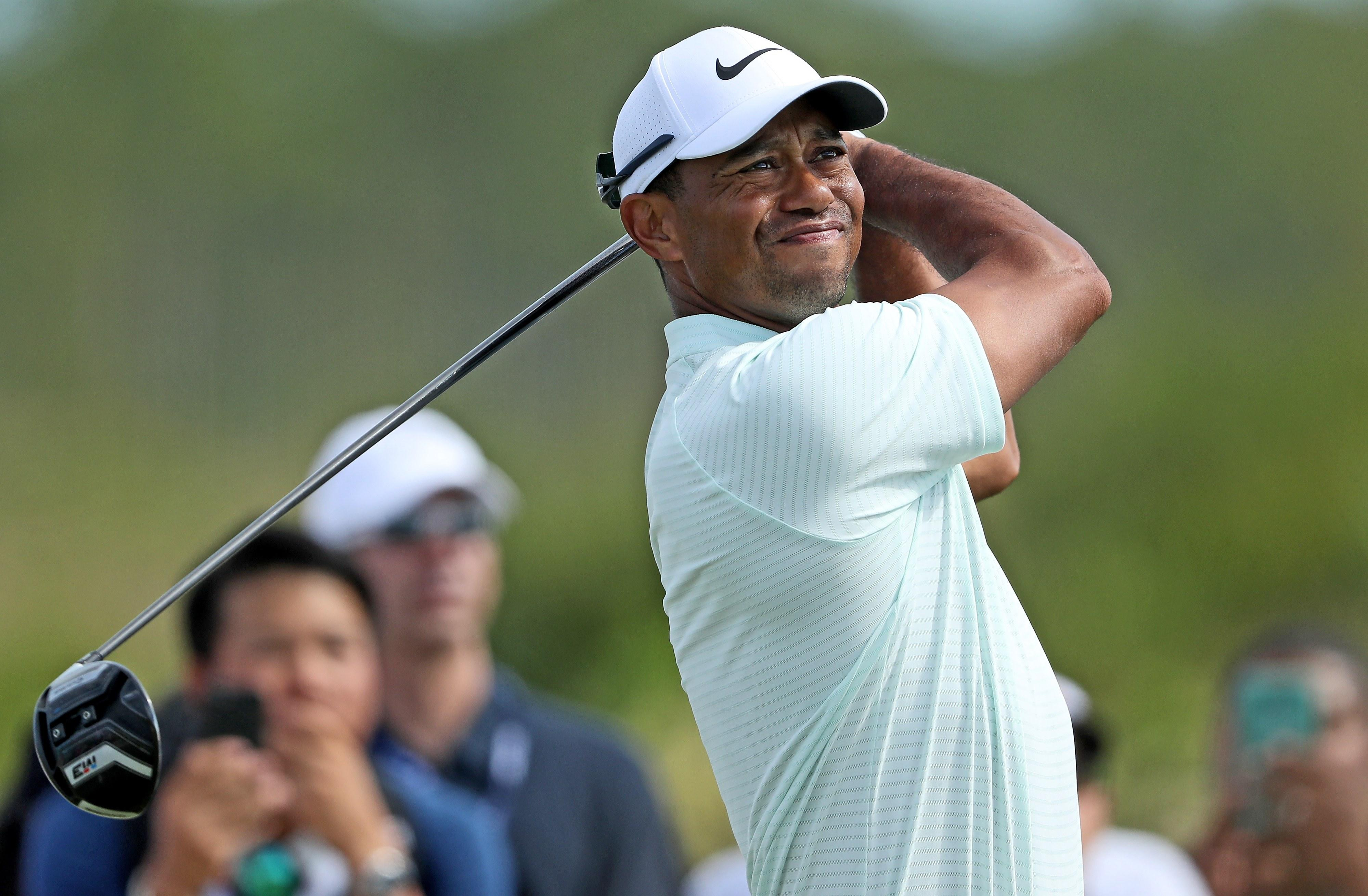 Tiger Woods better on Day 2 at the Hero 3d4cbf992afc