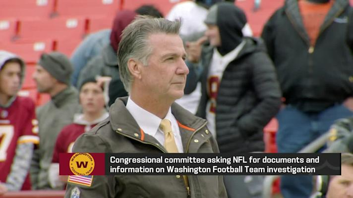 Congressional committee asking NFL for documents, information on Washington Football Team investigation