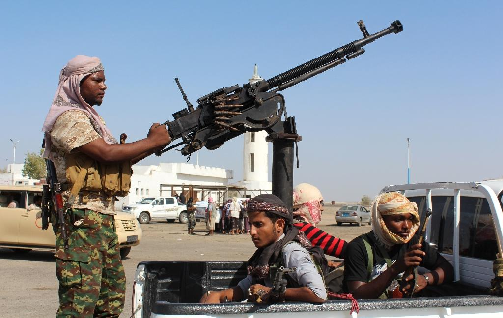 Forces loyal to the Yemeni government are battling Al-Qaeda fighters who have exploited years of conflict to expand their presence in the impoverished country (AFP Photo/SALEH AL-OBEIDI)
