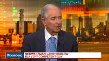 Schwarzman Says Kudlow Is Very Competent, Basic Economy Doing Well