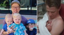 How young dad 'saved son's life' through incredible selflessness