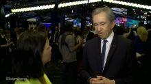 LVMH CEO Bernard Arnault Is Sanguine About the World Economy