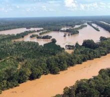 Floodwaters continue to rise on portions of Carolina rivers even a full week after Florence's arrival
