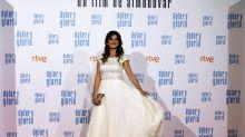 Penélope Cruz, una 'novia' de Chanel en el estreno de 'Dolor y gloria'