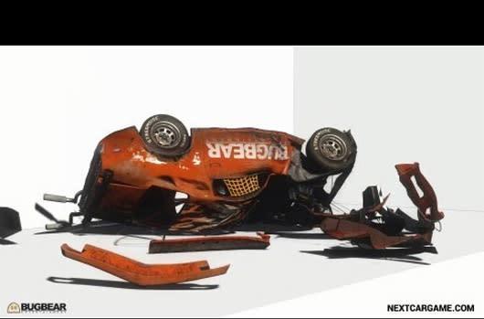 FlatOut dev shows off Next Car Game's damage modeling, vehicle torture