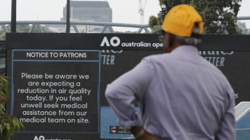 Air quality still a concern for Australian Open