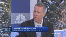 Watch CNBC's full interview with Marriott CEO Arne Sorens...