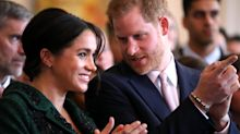 Harry and Meghan arrive in South Africa with Archie after flight delay