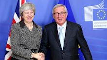 May calls Juncker for help amid struggle to pass Brexit deal