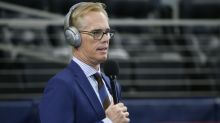 Pro Football Hall of Fame surprises Joe Buck at halftime with prestigious Rozelle Award
