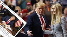 'Take it down!': Ivanka Trump slammed over tweet praising dad