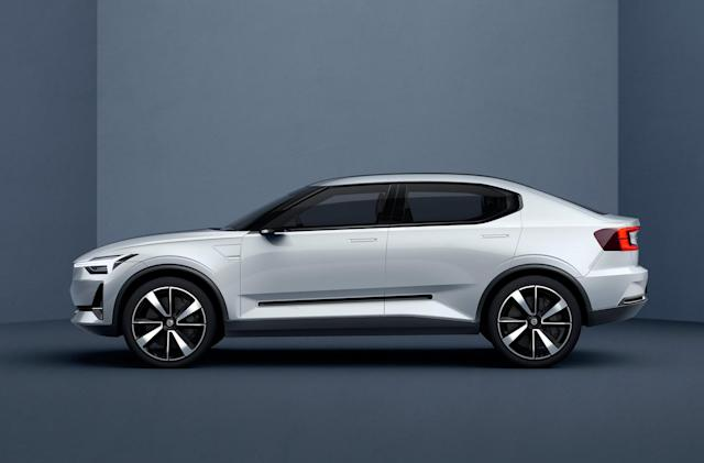 Volvo's all-electric Polestar 2 will go up against the Model 3
