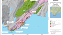 Magna Terra Samples up to 21.2 G/T Gold: Plans 2,000 Metre Drill Program at the Emilio Trend, Cape Spencer Project