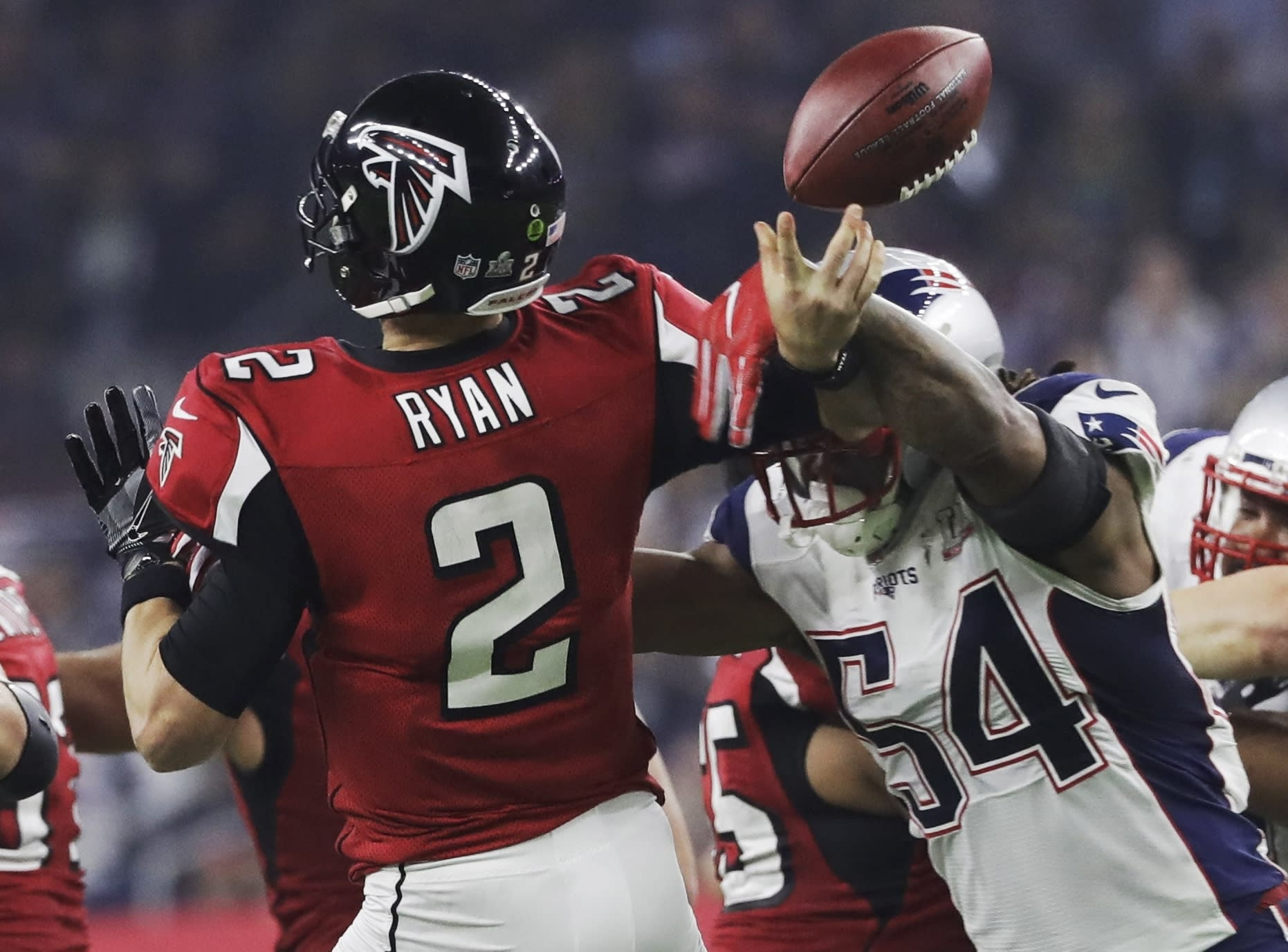 That s twice now that Dont a Hightower has saved the Super Bowl