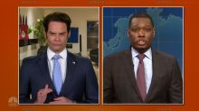 'SNL' alum Bill Hader nails 'The Mooch' on 'Weekend Update: Summer Edition'