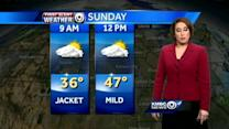 Mild Sunday ahead; winter storm likely midweek