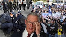 Four NSW Health staffers reportedly attended anti-lockdown protest