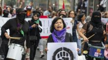 Mexico's feminist protests grow louder. So does debate over tactics.
