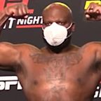 UFC Vegas 6 weigh-in results: Derrick Lewis 38 pounds heavier than Aleksei Oleinik; 3 fighters miss weight