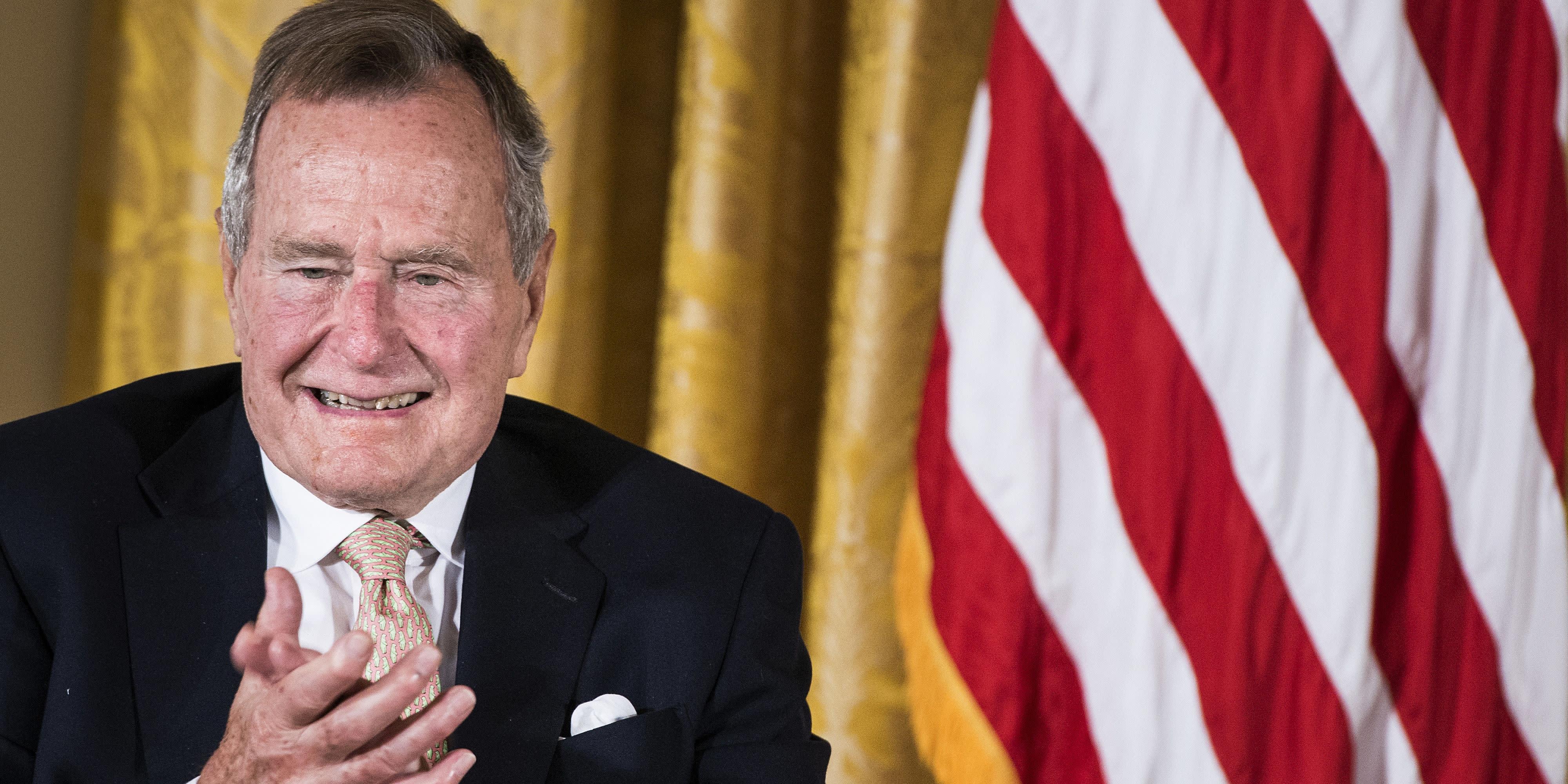 a biography of george w bush before becoming the president of america George hw bush: george hw bush, vice president of the united states (1981–89), 41st us president (1989–93), and father of the 43rd us president, george w bush.