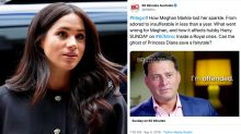 Fans criticise 'disgusting' Meghan Markle exposé - 'Unbelievably awful'