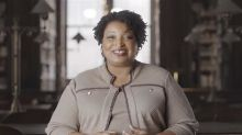 Stacey Abrams has a message for Trump after he calls for supporters to vote more than once
