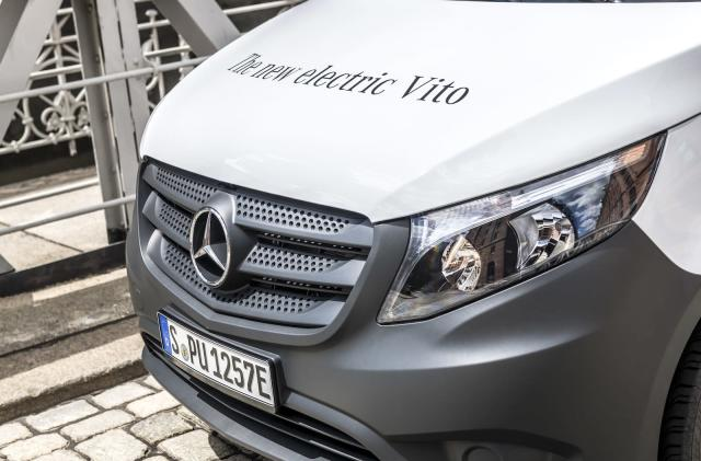 Amazon is buying 100 electric Mercedes delivery vans