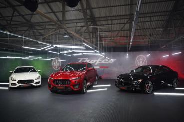 Maserati TROFEO車系全員到齊! 698萬起享受義式嗆辣魅力!