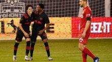Foot - MLS - MLS: Caden Clark (New York Red Bulls) frappe encore