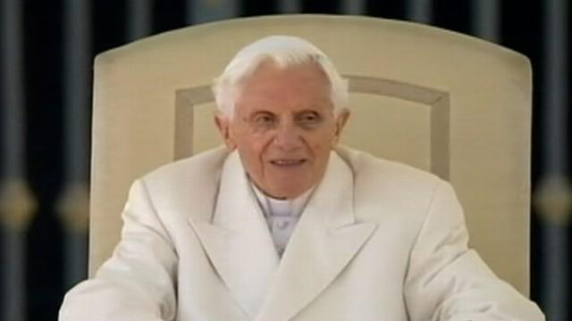 Pope Benedict Delivers Farewell Address
