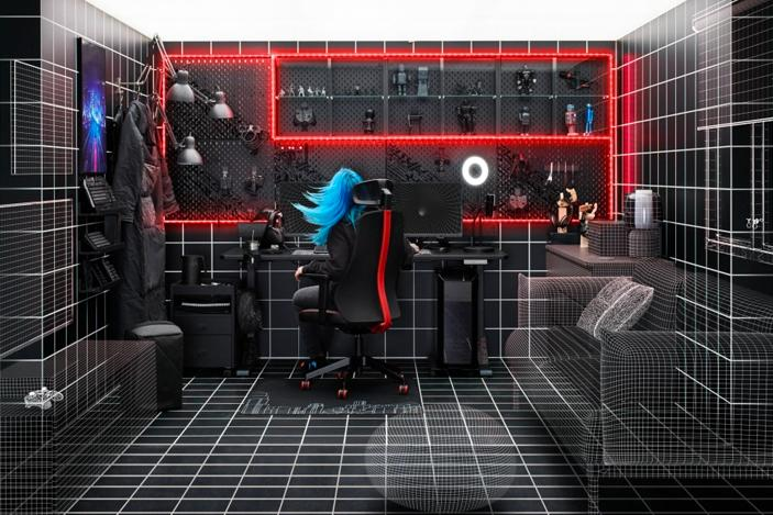 IKEA's ASUS ROG gaming collection comes to the US and UK this October