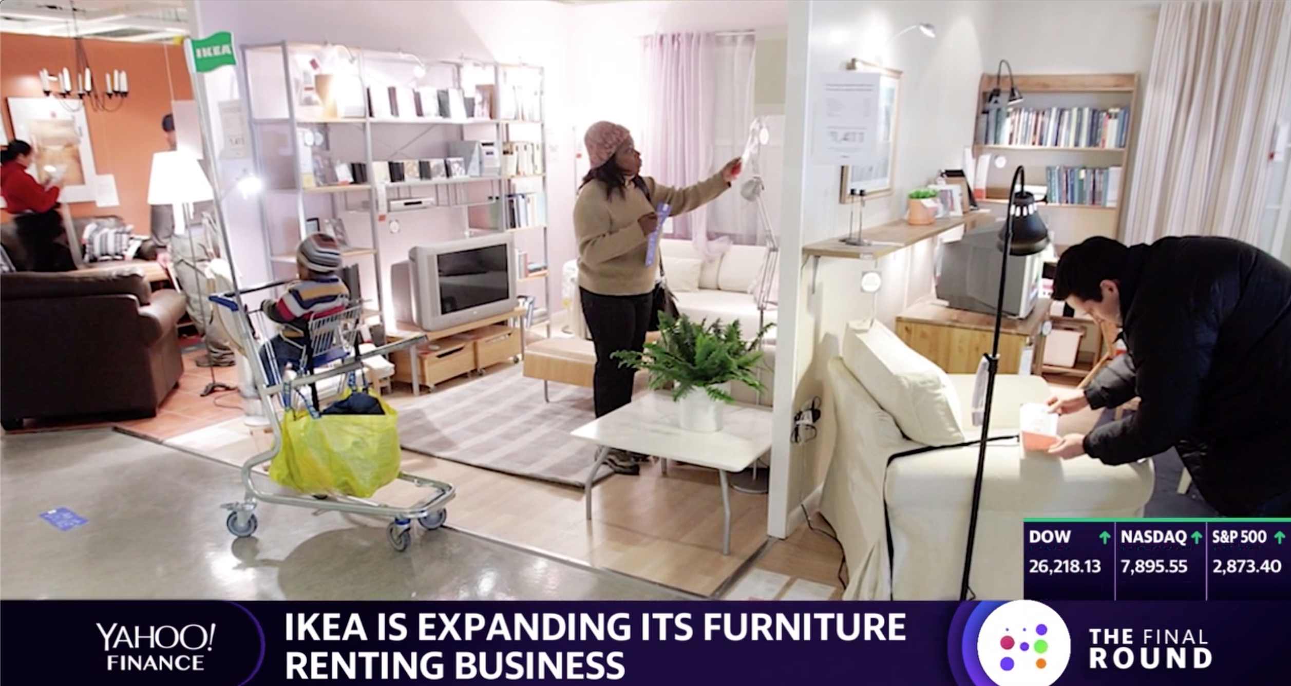 Ikea Expands Its Furniture Rental Business Video