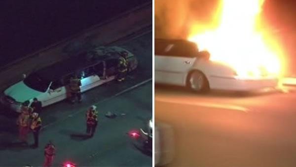Limo in fatal fire on San Mateo Bridge had too many passengers