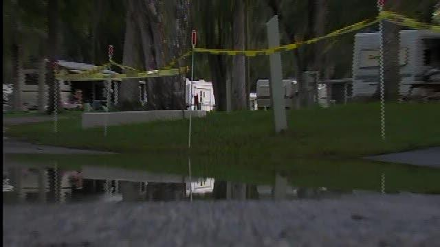 Residents go home after Debby flooding