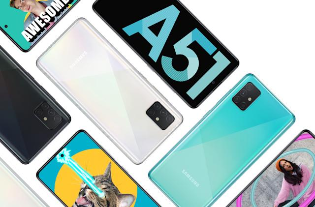 Samsung's $399 Galaxy A51 comes to AT&T and Xfinity Mobile