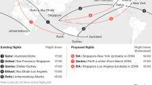 Qantas Sets Aviation Milestone With Perth to London Direct