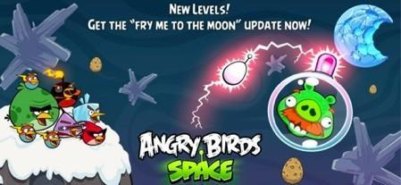 Angry Birds Space, Jetpack Joyride, Anomaly Warzone Earth all updated