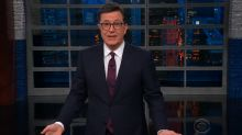 Surprisingly, Stephen Colbert agrees with Donald Trump on something