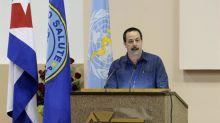 """Cuba """"no hace política con la salud de ningún pueblo"""", asegura ministro"""