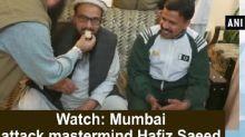Watch: Mumbai attack mastermind Hafiz Saeed walks free